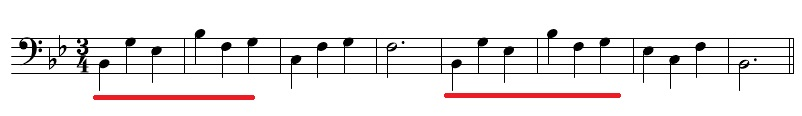 和声課題2